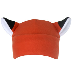 fox fleece hat